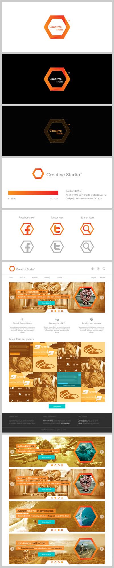 Creative Studio - New branding project!