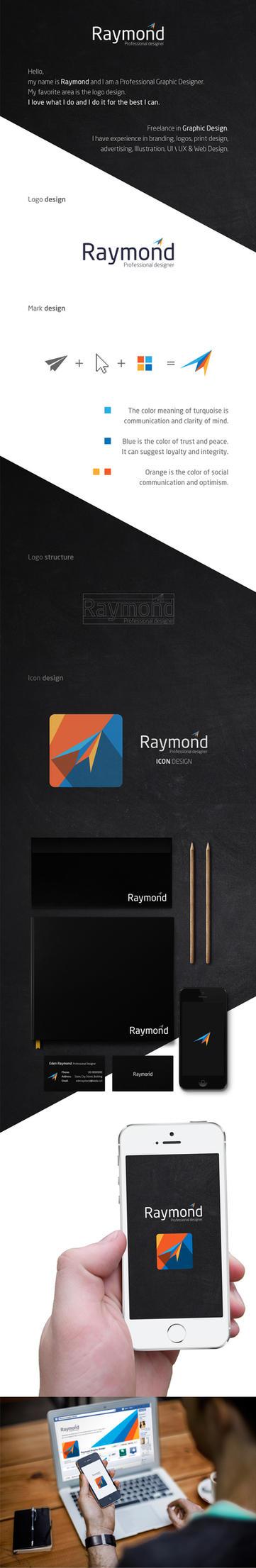 Raymond - Rebranding Project by RaymondGD