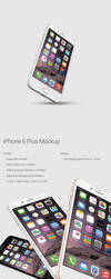 iPhone 6 Plus - Mockup (Free PSD Download) by RaymondGD