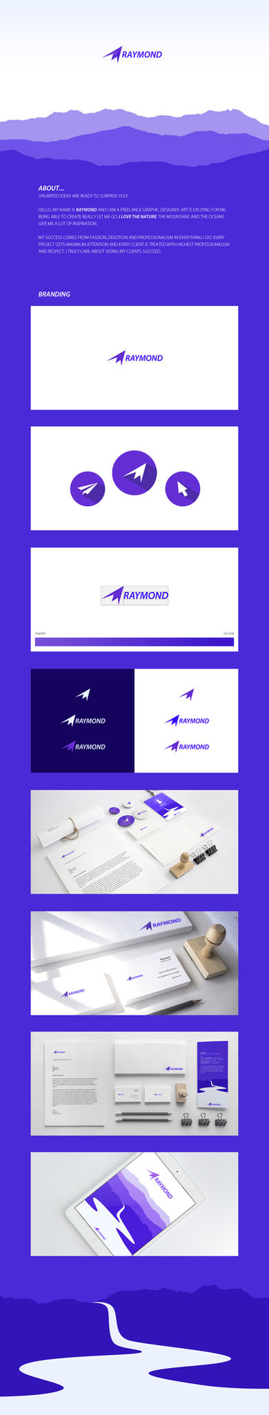 Raymond Branding by RaymondGD
