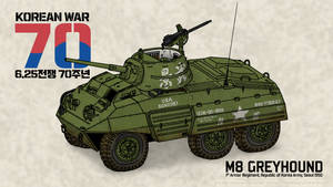 M8 Greyhound 'ROK Army 1st Armor Regiment'