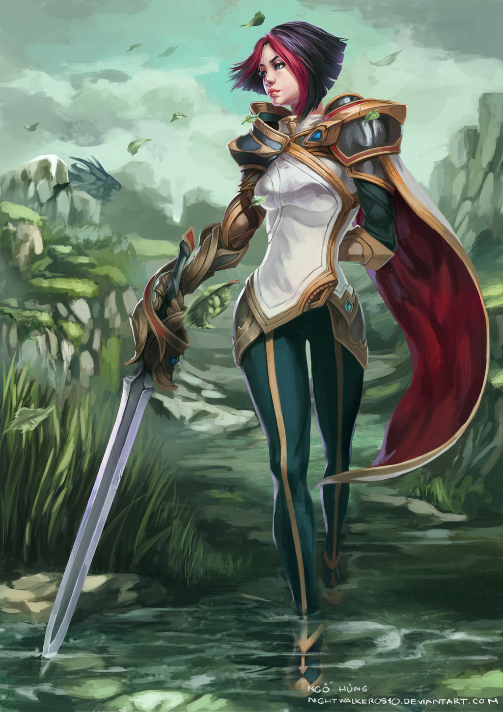 Fiora- Fanart LOL by nightwalker0510 on DeviantArt