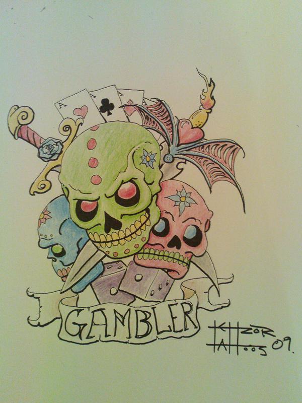 tattoo skulls by TettZor87 on