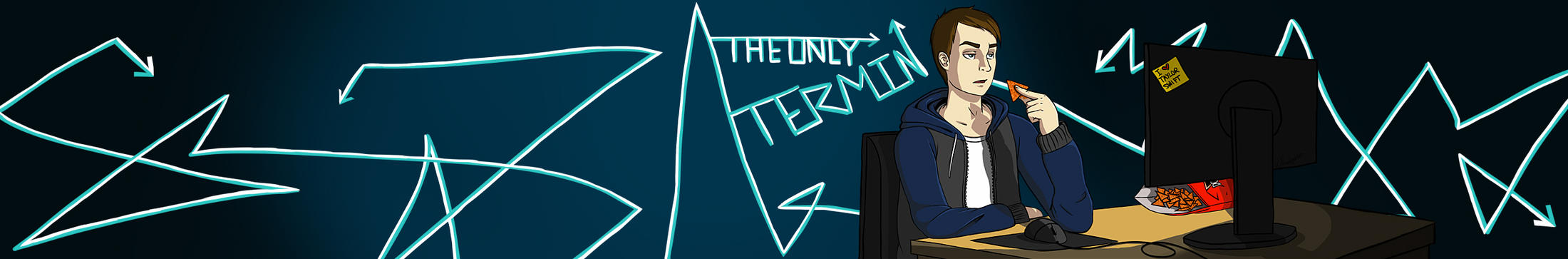 Termins Banner YT by AprilWolf