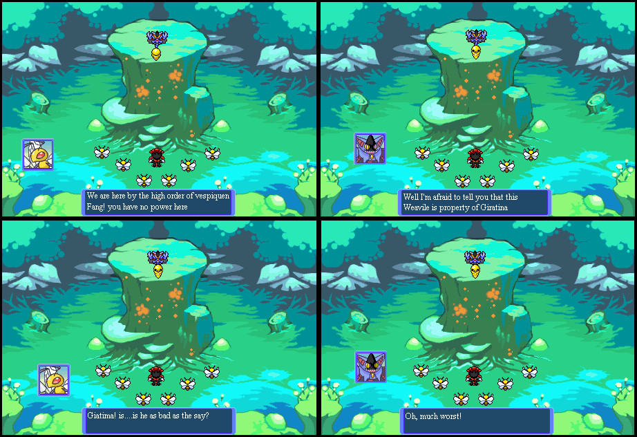 Mystery Dungeon chaos dusk:3 by Darkmaster09