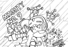 Congrats To Mighty No. 9! by AnotherRandomMegaMan