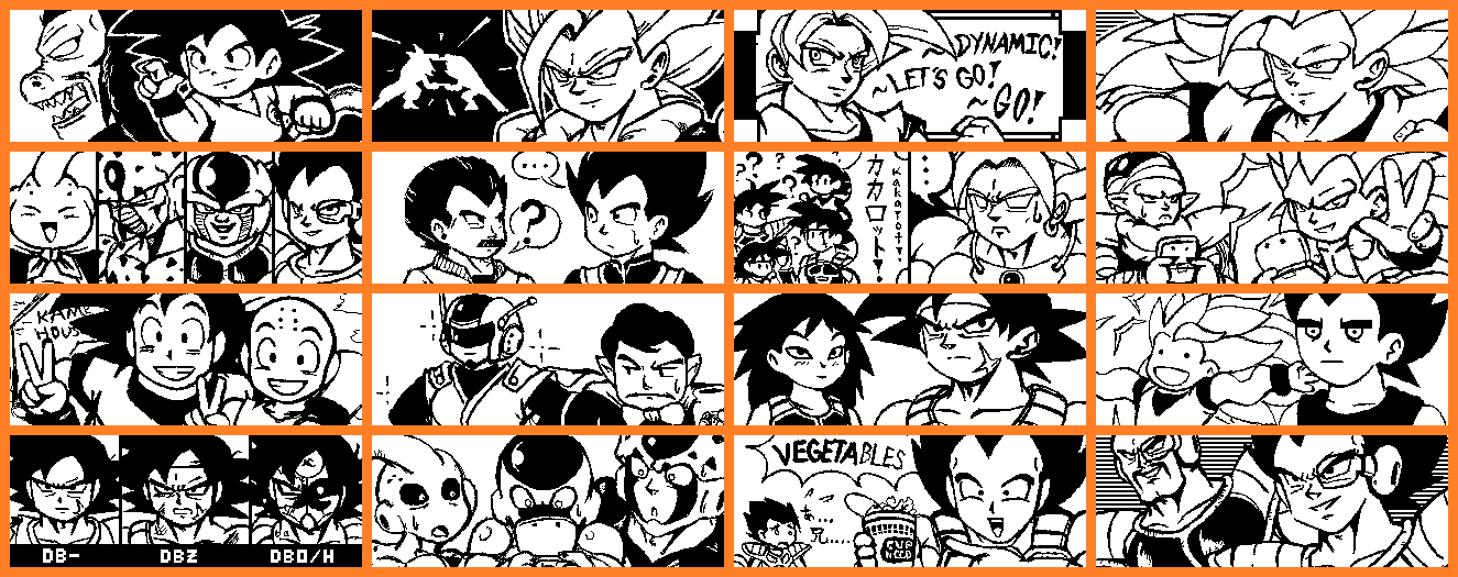 Miiverse Dragon Ball Fan Art by AnotherRandomMegaMan