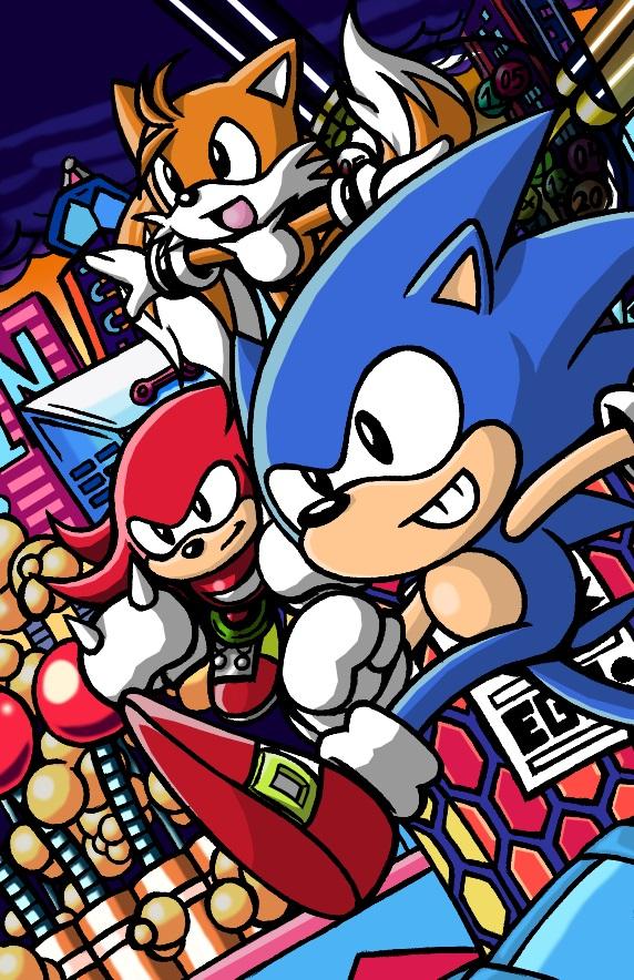 Sonic Mania Tribute by AnotherRandomMegaMan