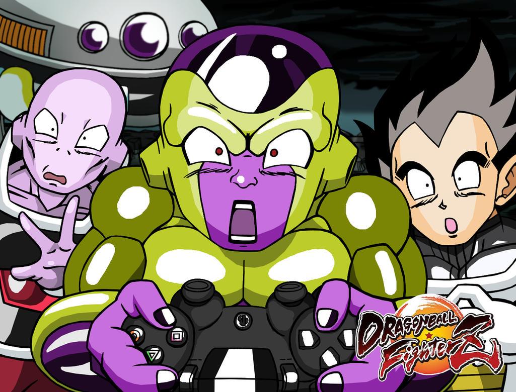 Dragon Ball FighterZ Hype - Super Gokuden 2 Homage by AnotherRandomMegaMan
