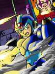Mega Man X1 Battle on the Highway