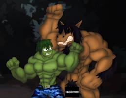 Two beast in Peru by BeastLab36