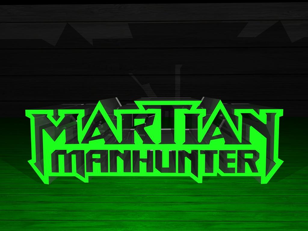 martian manhunter 3d logo by emerio on deviantart