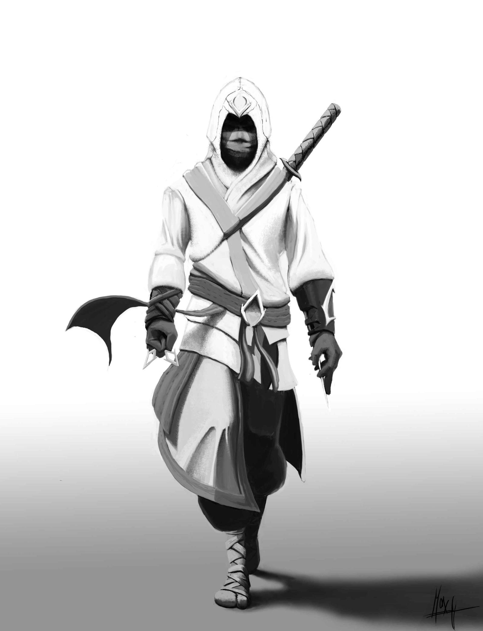 Assassin S Creed Ninja By Enterthellama On Deviantart