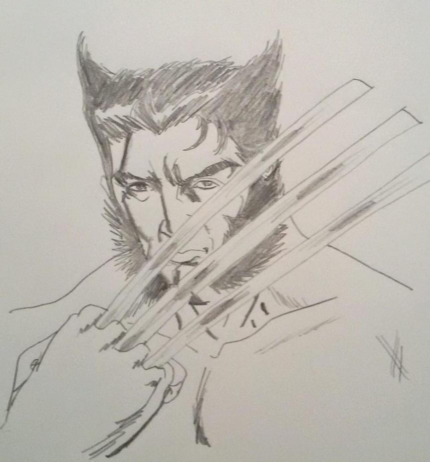 Ten minute sketch by Vanchi
