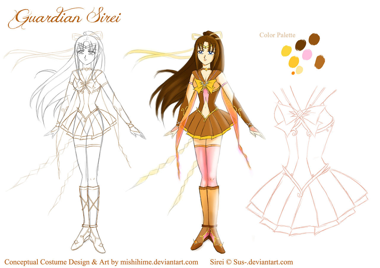 Guardian Sirei Character Reference (Contest) by mishihime