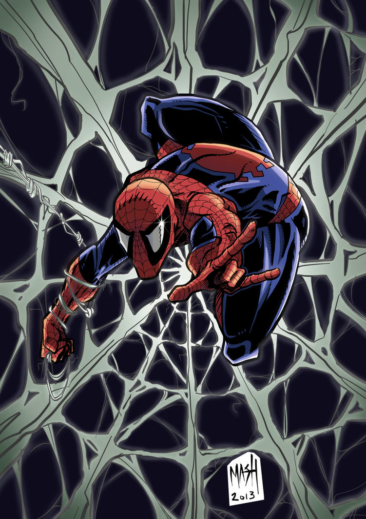 Spiderman Web by Rexbegonia