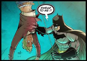 Batman - Swear To Me - colors by Rexbegonia