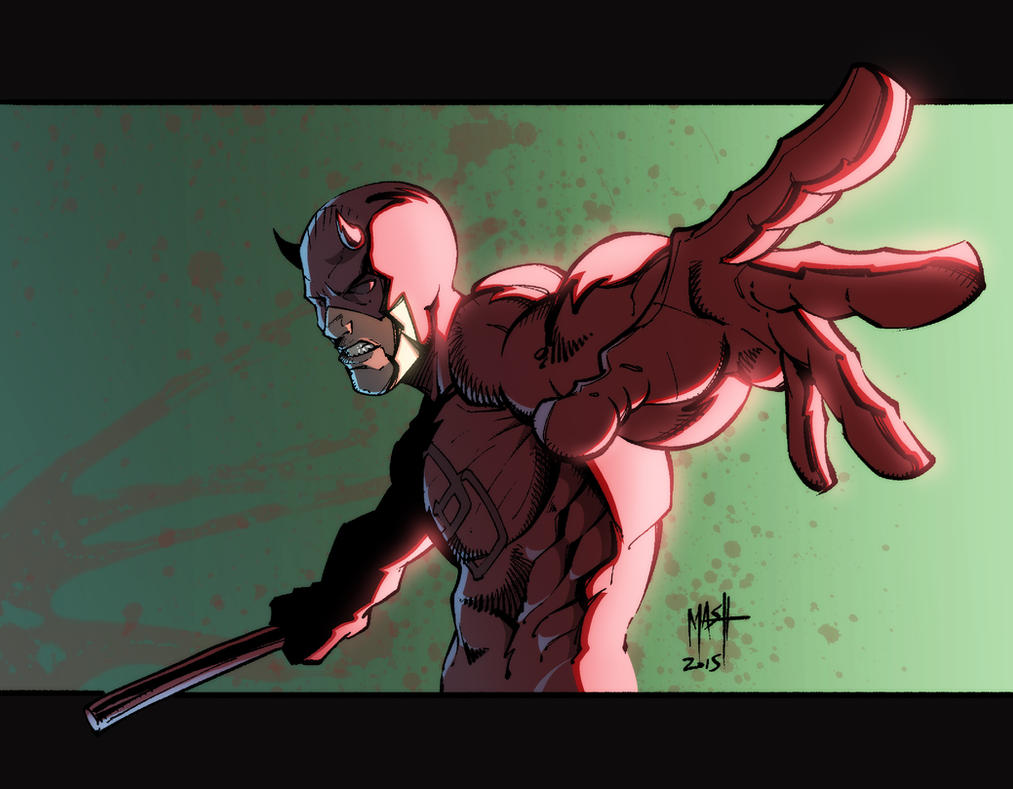 Daredevil by Rexbegonia