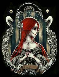 Her Ladyship Skellington by InkYami