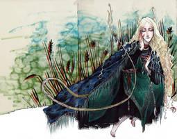 Huldra by Ink-Yami
