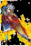 Alkonost Bird