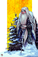 Ded Moroz by Ink-Yami