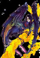 Sirin Bird by Ink-Yami