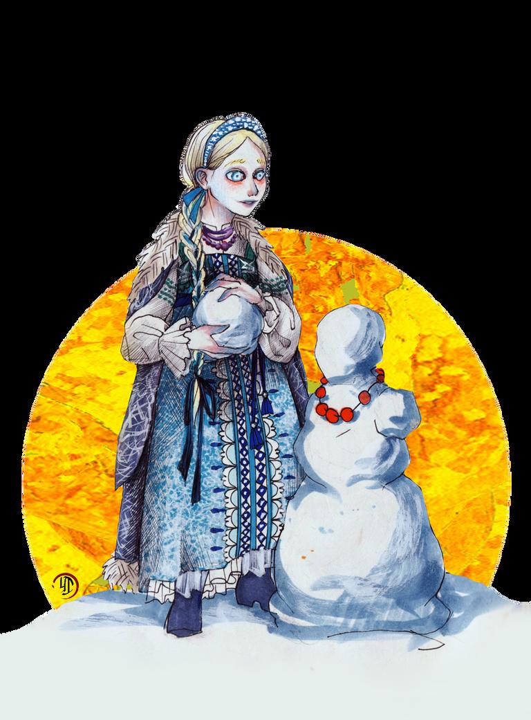 Snegurochka by Ink-Yami