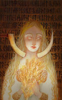 Goldenhair by Ink-Yami