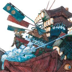 July II - Gion Matsuri by Ink-Yami