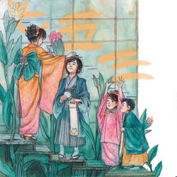 November - Shichi-go-san by Ink-Yami
