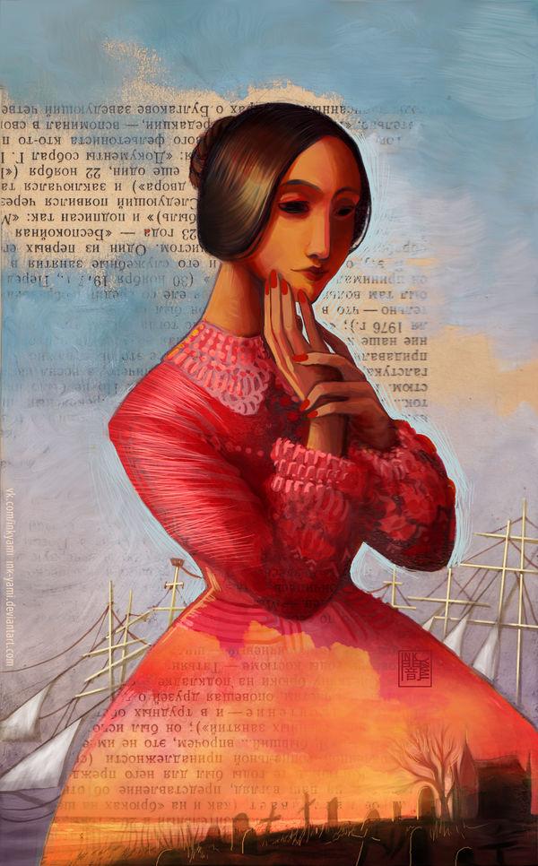 Annabel Lee by InkYami