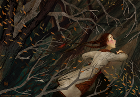 Commission: Forest Witch VII