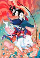 Marichi-Ten by Ink-Yami