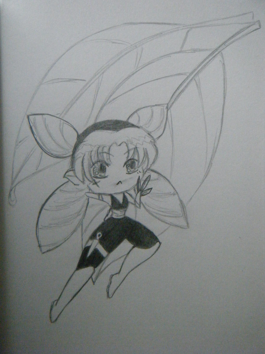 Ninja of the Leaf by WednesdayRaine
