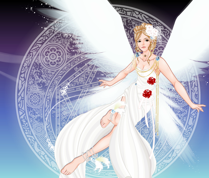 Ryi the angel by KristenCatsA