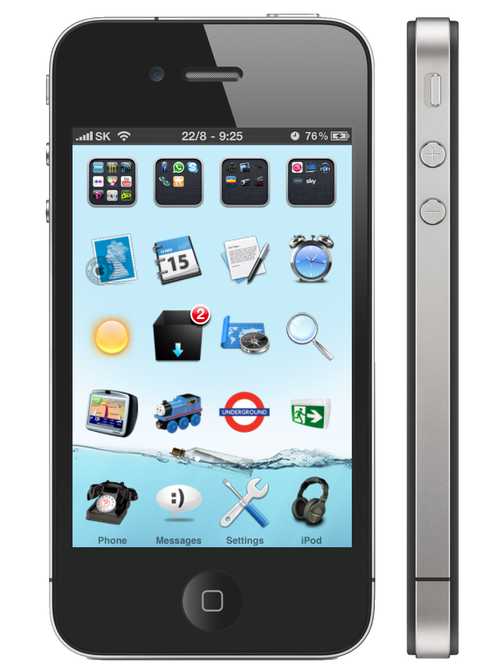 Custom Iphone S Cover