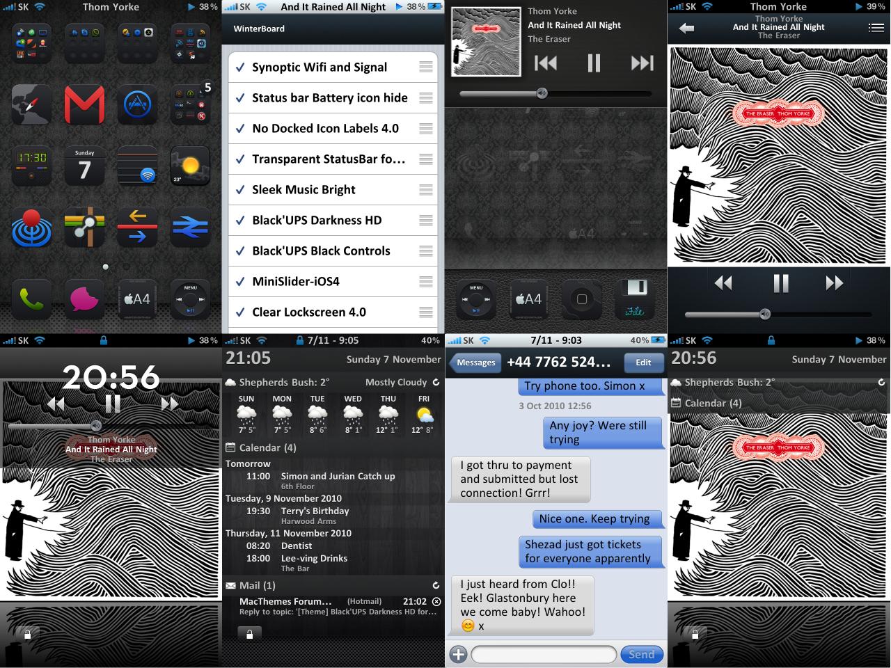 UPS Darkness HD iPhone 4 by Simieski