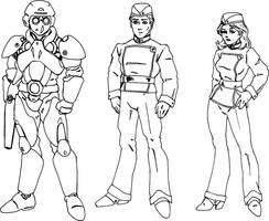 Uniforms by Dr-Destruction