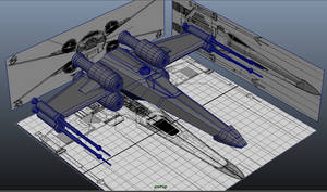X-wing model by Dr-Destruction
