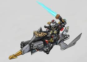 Sisters of Battle Jetbike by Dr-Destruction
