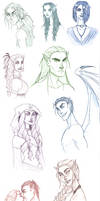 A Court of Thorns and Roses Sketchdump