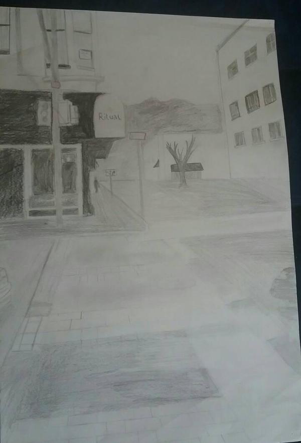 Street corner by Explosiveminds