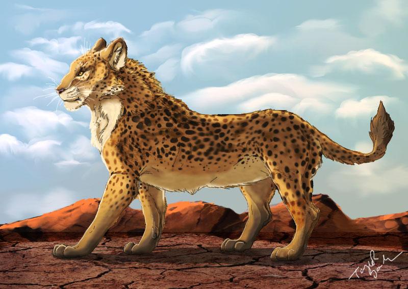 Leopard/Lion by grypwolf-fan
