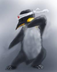 Karate Penguin by Shadow-Neoxid