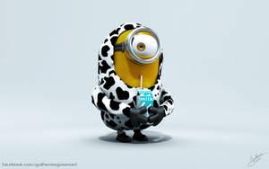 Cow Minion by Guilhermecs4