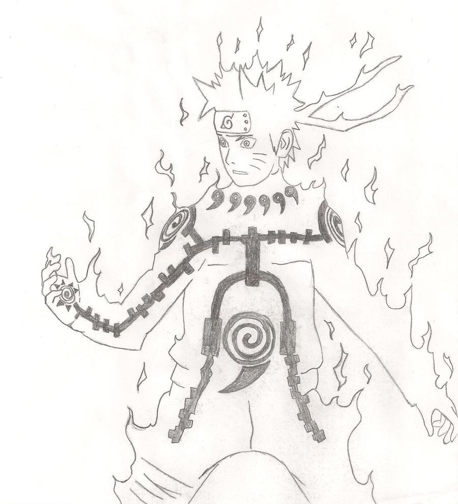 Naruto Chakra Mode By Hfuya On DeviantArt