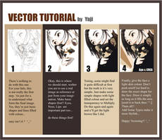 Illustrator Cs Vector Tutorial by yajido