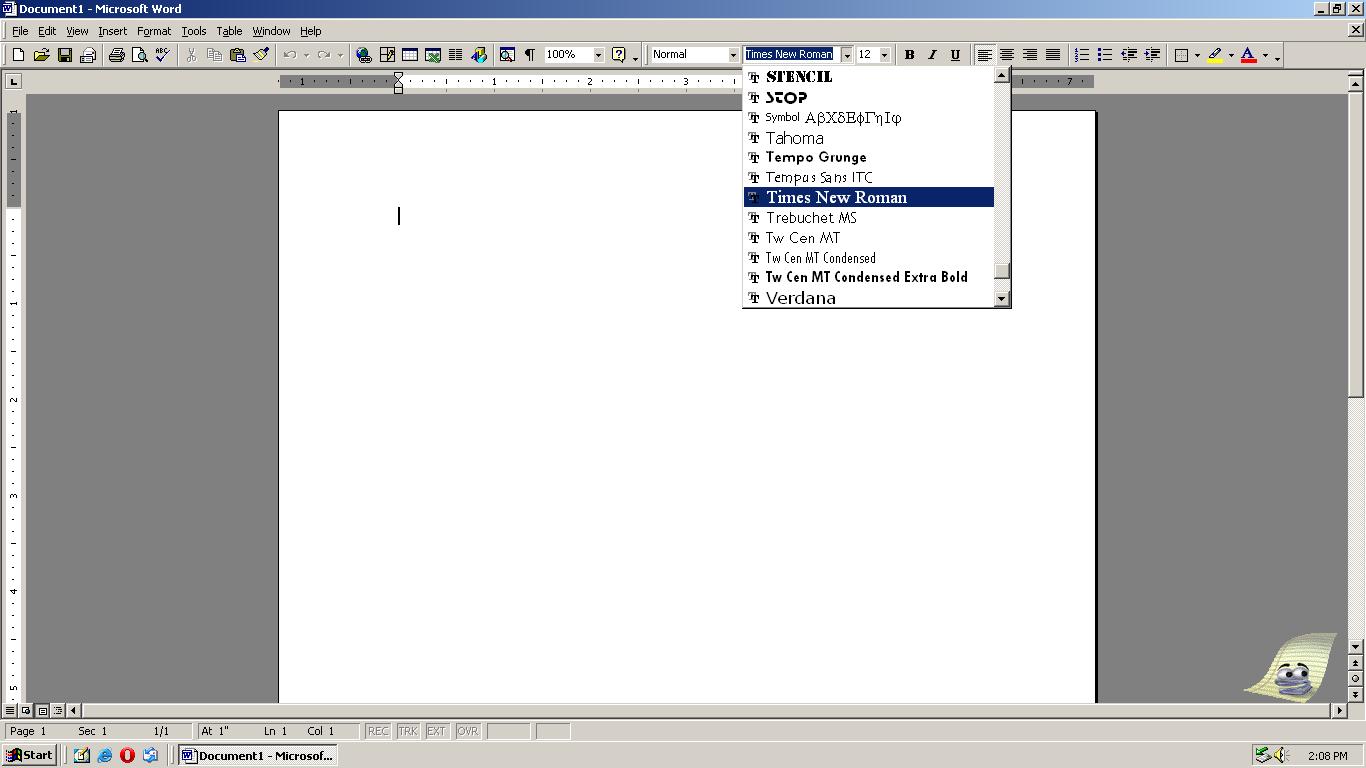 Microsoft Office 2000 at Windows 2000