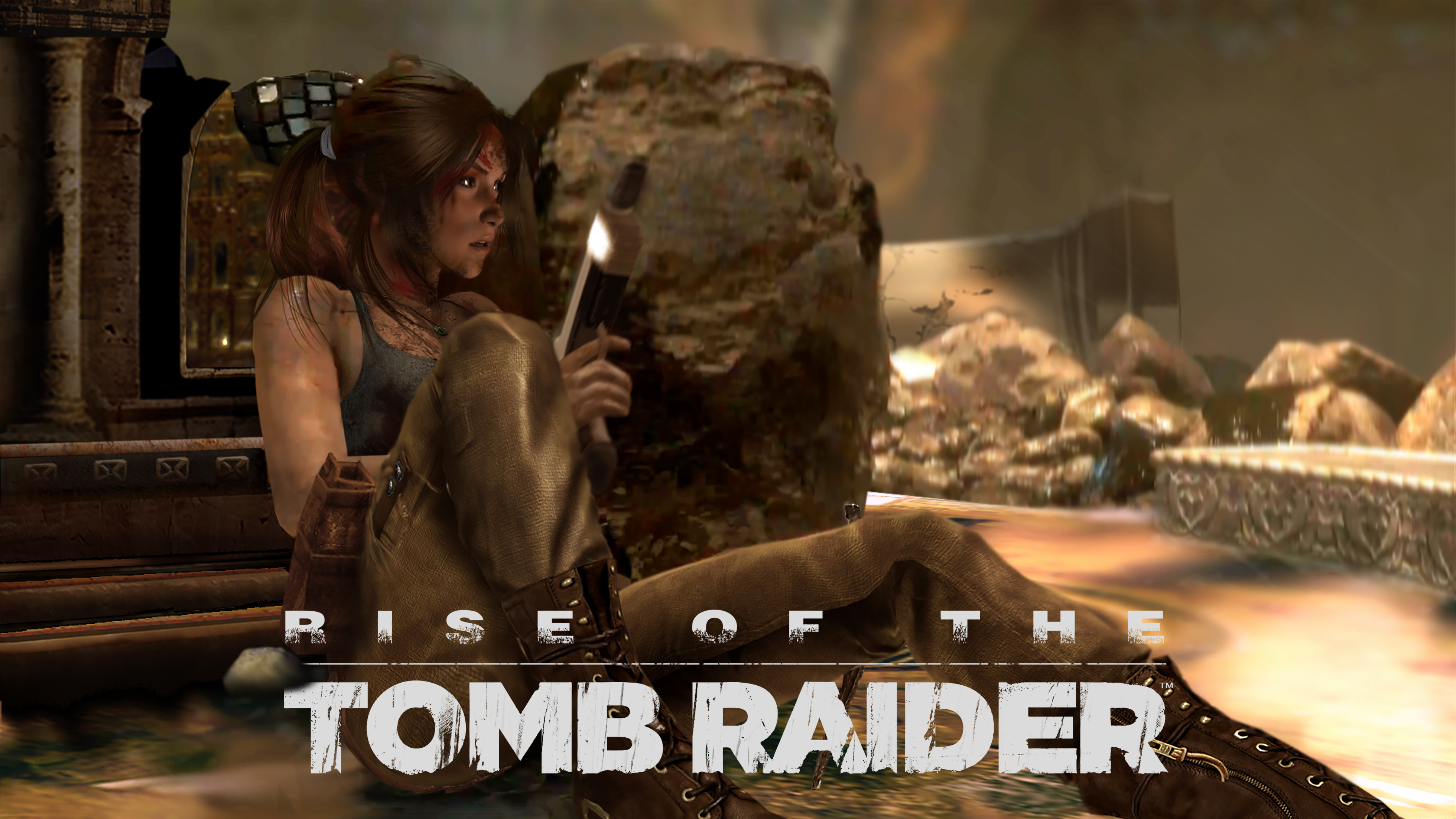 Rise Of The Tomb Raider Syria Wallpaper By Luzvictor